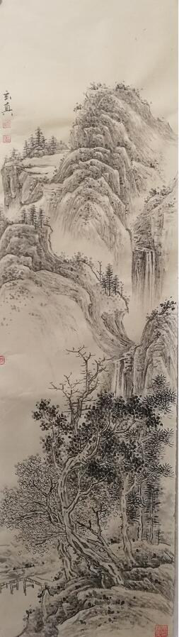 江山各有人才出,不拘一格数百年-------师现江绘画印象记